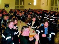 Noční cvičení hasičů Dlažov - rozhladna sv. Markéta